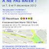 Plan d'accès Vente Privée 07, 08 et 09 décembre 2012 !!